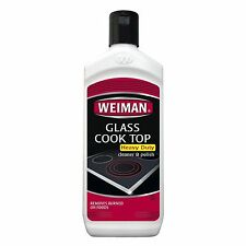 WEIMAN GLASS COOK TOP Heavy Duty CLEANER & POLISH Clean Shine Protect RANGE TOP