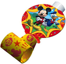 MICKEY MOUSE CLUBHOUSE ~ (8) Party Blowouts ~ Birthday Baby Party Supplies