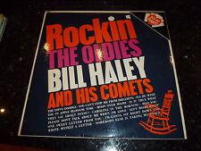 BILL HALEY AND HIS COMETS - Rockin' The Oldies - Rare original 1957 UK LP