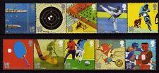GB 2010 Olympiques/Paralympiques Sur Chemin pour 2012 SG 3097-3106 MNH