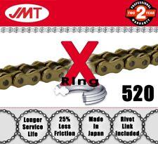 JMT Gold  X-Ring Drive Chain 520 P - 96 L for Suzuki Atv / Quads