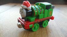 Take Along n play Thomas Tank & Friends Train - HOLIDAY PERCY WITH SANTA HAT