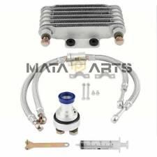 Engine Oil Cooler Oil Cooling Radiator System Kit for CB 100CC-250CC