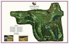 Double Eagle 1992 Morrish/Weiskopf  VintageGolfCourse Maps print