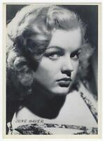 June Haver Actress Real Photo Postcard and Photograph Lot Two Vintage Hollywood