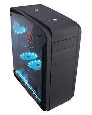 CASE ATX PER PC CORTEK GENESIS TOWER GAMING USB 3.0 VENTOLE LUMINOSE