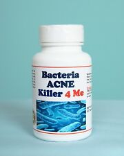 BACTERIA ACNE KILLER 4 ME (HUMANS) - 120 Caps - Made in USA - 100% Natural