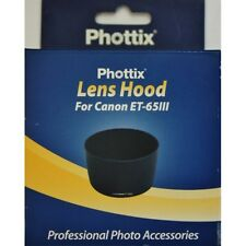 Parasol Phottix ET-65III para Canon EF 135mm f/2.8, EF 85mm f/1.8 USM