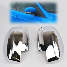 Fit For Ford Focus Mk3 Chrome 12- Door Side Rear View Mirror Cover Trim Garnish