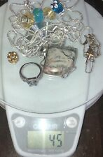 925 sterling silver lot + 1 Gold Filled Item All Wearable And Beautiful