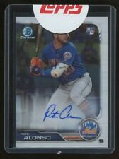 2019 Bowman Chrome Pete Alonso RC Rookie AUTO 71/99 New York Mets