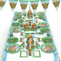 Dinosaur Printing Disposable Tableware Kids Birthday Theme Party Scene Decor HOT