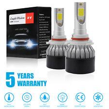 2 x 9005 HB3 LED Headlight Conversion Kit COB Bulb 110W 26000LM High Power 6000K