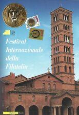 2008 Folder Festival Internazionale Filatelia 2009 Tessere/Cartolina/FDC CU 45