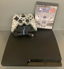 Sony PlayStation 3 PS3 Slim CECH-3001A 160GB Game and Controller