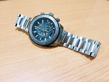Technoluxury TX Oversize Watch Full Titanium Mutifunction Linear Chrono Sapphire