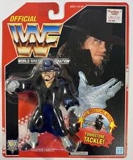Hasbro WWF Series 8 Undertaker Red Card Wrestling Figure w/ Coat MOC WWE Rare!