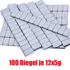 100x Auswuchtgewichte Klebegewichte Neu Auswuchtgewichte Kleberriegel 12*5g Neu