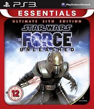 Star Wars: The Force Unleashed - Ultimate Sith Edition [PS3, Region Free] NEW
