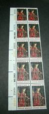 US Plate Blocks Stamp Scott# 1363 Christmas Issue 1968 Blk of 10 (note) MNH L329