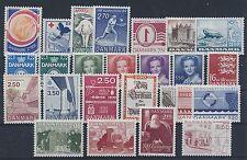 Dänemark Jahrgang 1983 postfrisch in den Hauptnummern kompl.....................