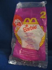 McDonald's Happy Meal 1996 Barbie #2 Rapunzel NIP