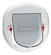 PetSafe Staywell Big Cat/Small Dog Pet Door (White) - 4 Way Locking Flap 280EF