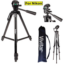 """52"""" PROFESSIONAL LIGHTWEIGHT TRIPOD FOR NIKON D3000 D3100 D3200 D3300 D5000"""
