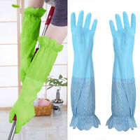Dish Washing Gloves Home Thick Warm Long Glove Clothes Car Clean Gloves 1 Pair