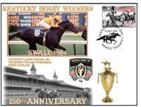 SWALE 1984, KENTUCKY DERBY 130th ANNIVERSARY COV