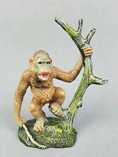 Vintage Gorilla Putz Figurine Lineol Elastolin German Austria Composition Animal