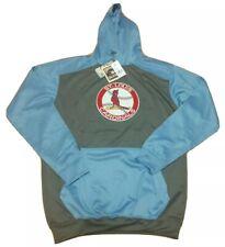 St Louis Cardinals Hoodie Sweatshirt Majestic Cooperstown Collection Size XLT
