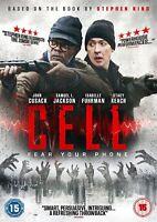 Cell [DVD] Samuel L Jackson John Cusack Movie Film NEW Stephen King Story Gift