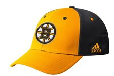 Boston Bruins adidas NHL Coaches SL Flex Fit Slouch Hat / Cap size S/M
