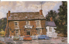 "Staffordshire Postcard - Glynne Arms - ""Crooked House"" - Dudley - Ref 2599A"