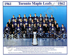 1961-62 TORONTO MAPLE LEAFS STANLEY CUP CHAMPIONS 8X10 TEAM PHOTO #2