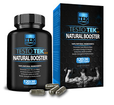 TestoTEK v2.0 Muscle Gains, Sex Drive & Performance, Testo, Testosterone Booster