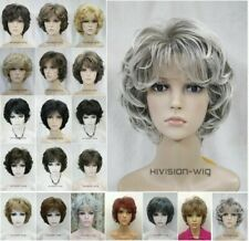 19 Colour Short Curly Women Wig Ladies Daily Hair Wig Hivision Cosplay Wigs