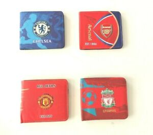 Football Club Team Logo Design Wallet Birthday Gift Casual Fan Official