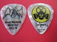 Aerosmith Joe Perry Signature Guitar Pick #3 - 2012-2013 Global Warming Tour