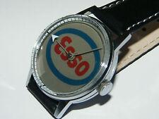 Esso,Mystery,Flash Watch,Reklame,Werbung,Benzin,Tankstelle,Uhr,Sammler,RaRe!
