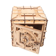 3D Wooden Puzzle Toy Treasure Box Mechanical Model Kits Christmas Gift