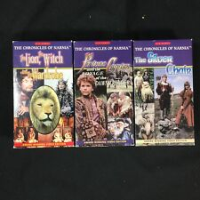 BBC Chronicles of Narnia VHS Set Lion Witch Wardrobe Prince Caspian Silver Chair
