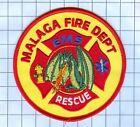 Fire Patch -Malaga Fire Dept. EMS