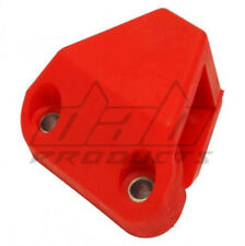 DAB PRODUCTS TRIALS ANGLED CHAIN TENSIONER PAD WITH SCREWS & NUTS RED