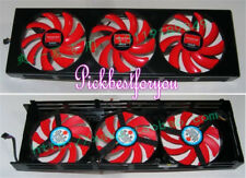 1x ATI AMD Radeon HD7990 Grafikkarte Triple Fan NTK FD7010H12S 12V 0.35A #M778 QL