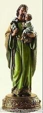 """10.25"""" St. Joseph Heavenly Protector Baby Jesus Joseph's Studio Statue # 62812"""