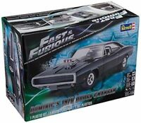 REVELL 4319 Fast & Furious Dominic's 1970 Dodge Charger Model Car Kit FREE SHIP