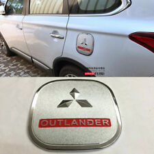 ABS Chrome Fuel Gas Tank Cap Trim Cover For Mitsubishi Outlander 2016-2018