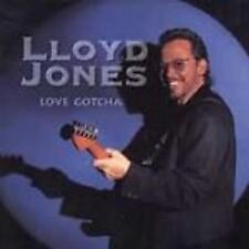 Lloyd Jones: Love Gotcha w/ Artwork AUDIO CD blues music! 1999 saxophone guitar